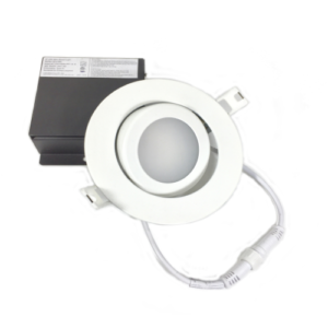 4 Gimble LED Panel w:J-Box Dimmable 5000K – 9W