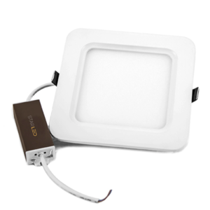 5 Square LED Panel w:Driver 12 Watts