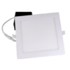 8 Square LED Panel w:Box 18 Watts – Dimmable